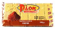 pion napolitane cu crema de cacao