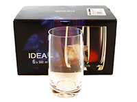 ideal set pahare long drink 380 ml