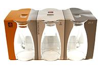 uniglass set pahare pentru apa mykonos 280 ml