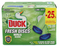 duck anitra fresh discs rezerva lime