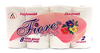 fiore hartie igienica super soft 2 str 8role
