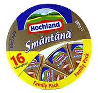 hochland branza topita cu smantana