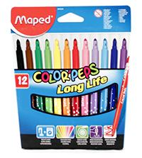 maped carioci cu 12 culori
