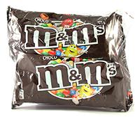 m&m cu ciocolata