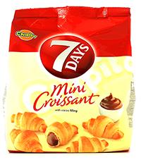 7 days mini cornuri cu ciocolata