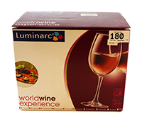luminarc set pahare pentru vin 260 ml