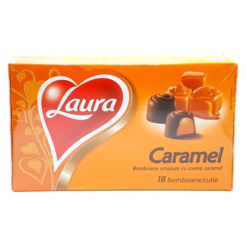 laura bomboane cu crema caramel
