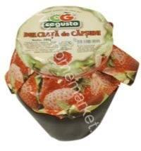 conserv fruct dulceata de capsuni