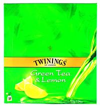 twinings ceai verde cu lamaie