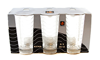 uniglass set pahare pentru apa kyma 260 ml