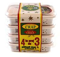 negro salata de icre din crap cu ceapa 3+1 gratis