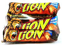lion baton ciocolata