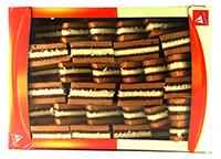 senic miniprajituri cu crema de rahat cu cacao
