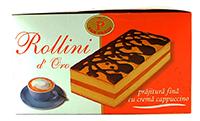 rollini prajitura cu crema de cappuccino