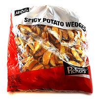 mccain cartofi congelati spicy wedges