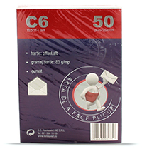 romkuvert plicuri c6 gumate