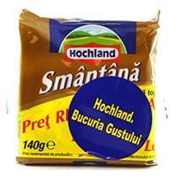 hochland branza topita feliata cu smantana