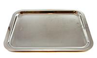 inoxriv tava dreptunghiulara ambra din inox 35x27 cm