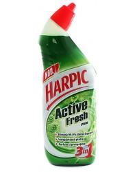 harpic wc active fresh cu aroma de pin