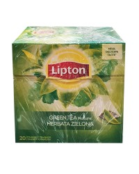 lipton ceai verde cu menta