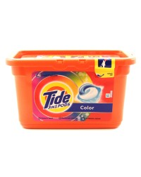 tide detergent capsule color