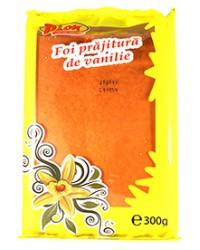 pion foi cu vanilie pentru prajituri
