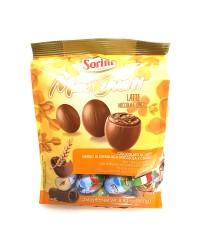 sorini maxi oua din ciocolata cu lapte si alune