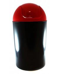 delta cos din plastic pentru gunoi flip flap 12 l