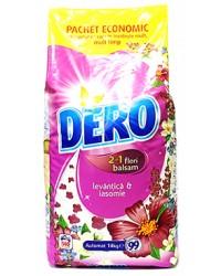 dero detergent 2 in 1 flori balsam  levantica s iasomie