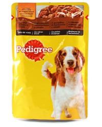pedigree pouch cu  vita si miel